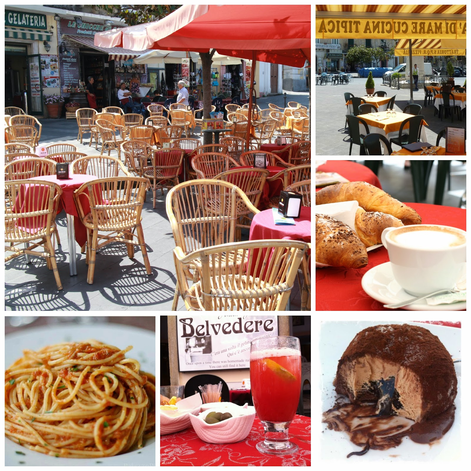good choice of bars and restaurants in Pizzo