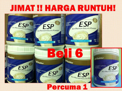 Promosi September Shaklee - ESP