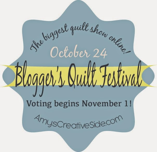 Blogger's Quilt Festival Oct 24th