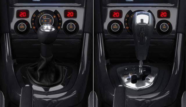 Novo Peugeot 308 2016 - transmissão