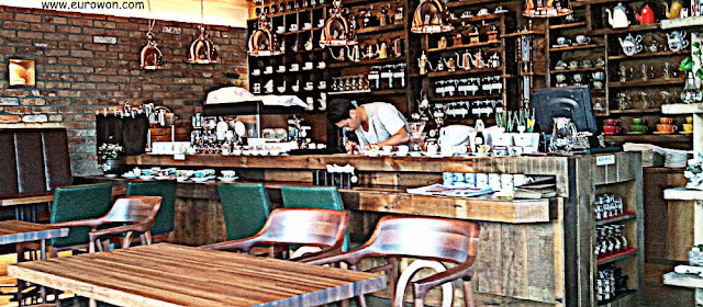 Cafetería coreana en Miryang