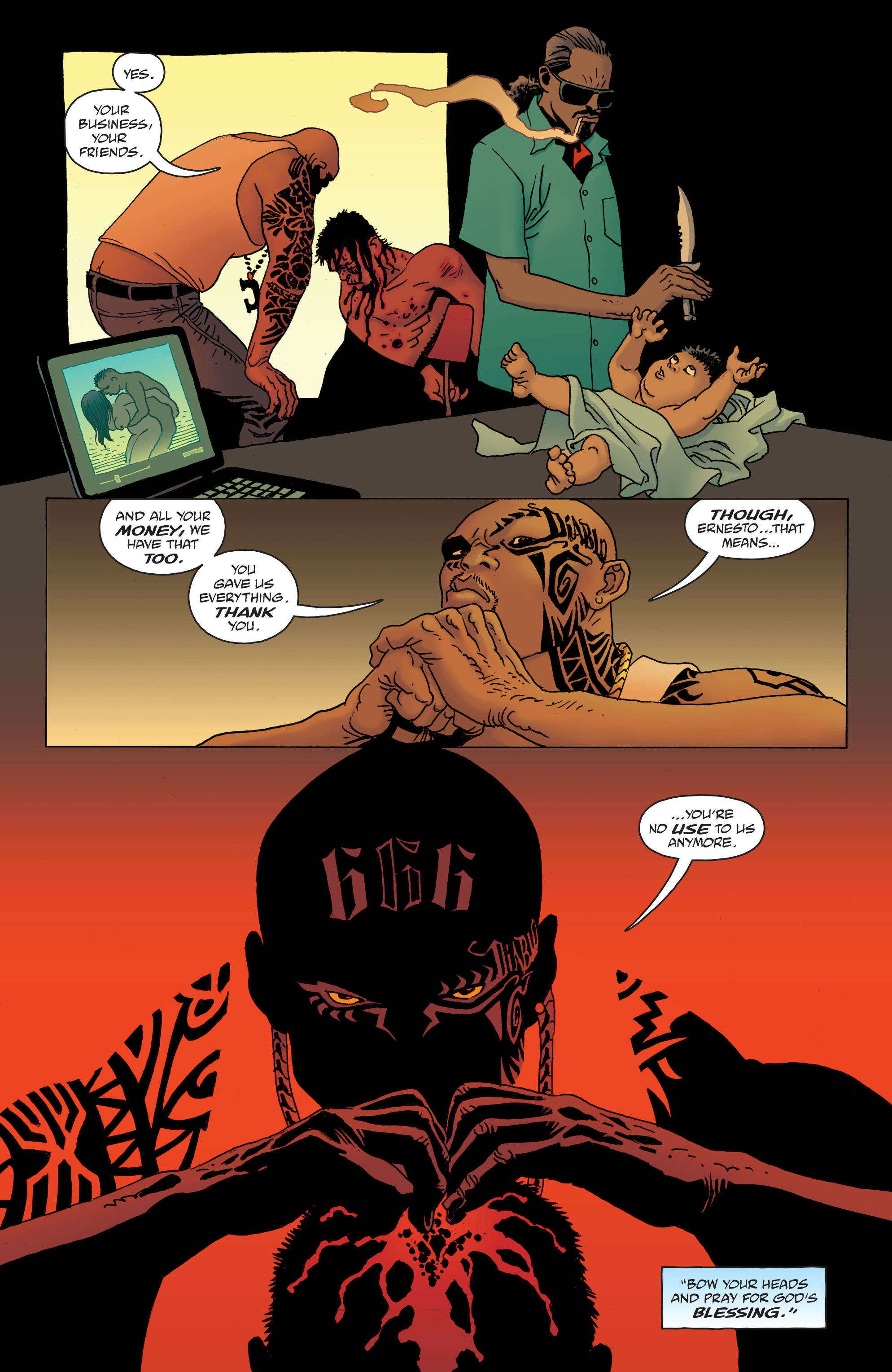 100 Bullets: Brother Lono Full Page 14
