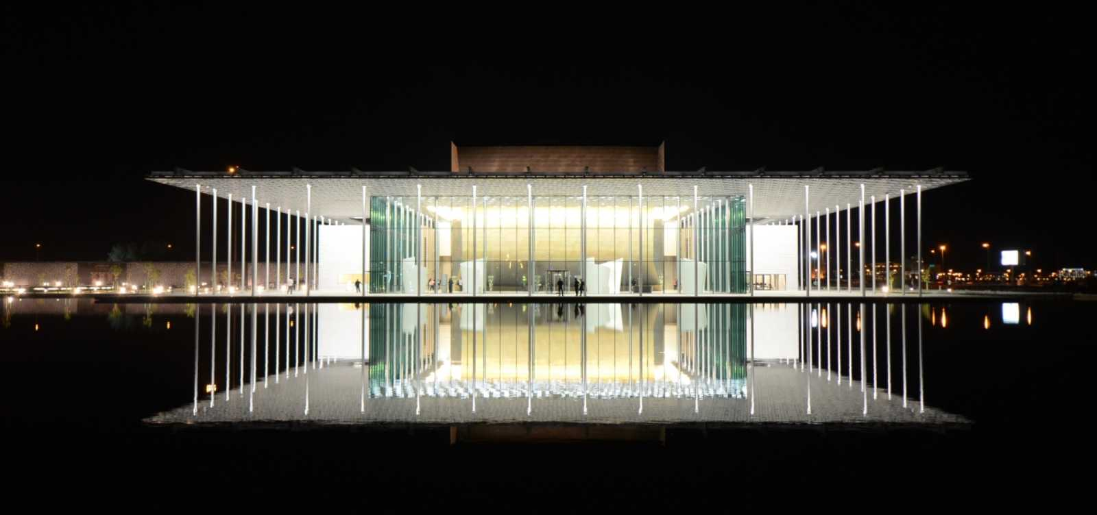 National theatre of bahrain by architecture studio for Architecture com