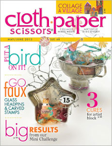 Cloth, Paper, Scissors May/June 2013