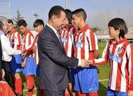 Jutawan Negara China beli Saham Atletico Madrid