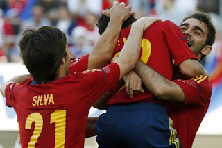 Spanish Football Team Euro 2012