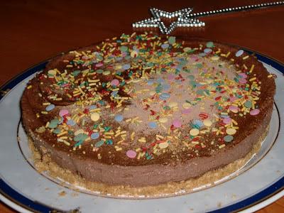 Tarta Mousse De Chocolate En Microondas