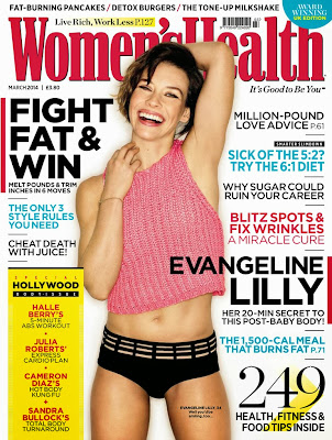 Evangeline Lilly HQ Pictures Women's Health UK Magzine Photoshoot March 2014