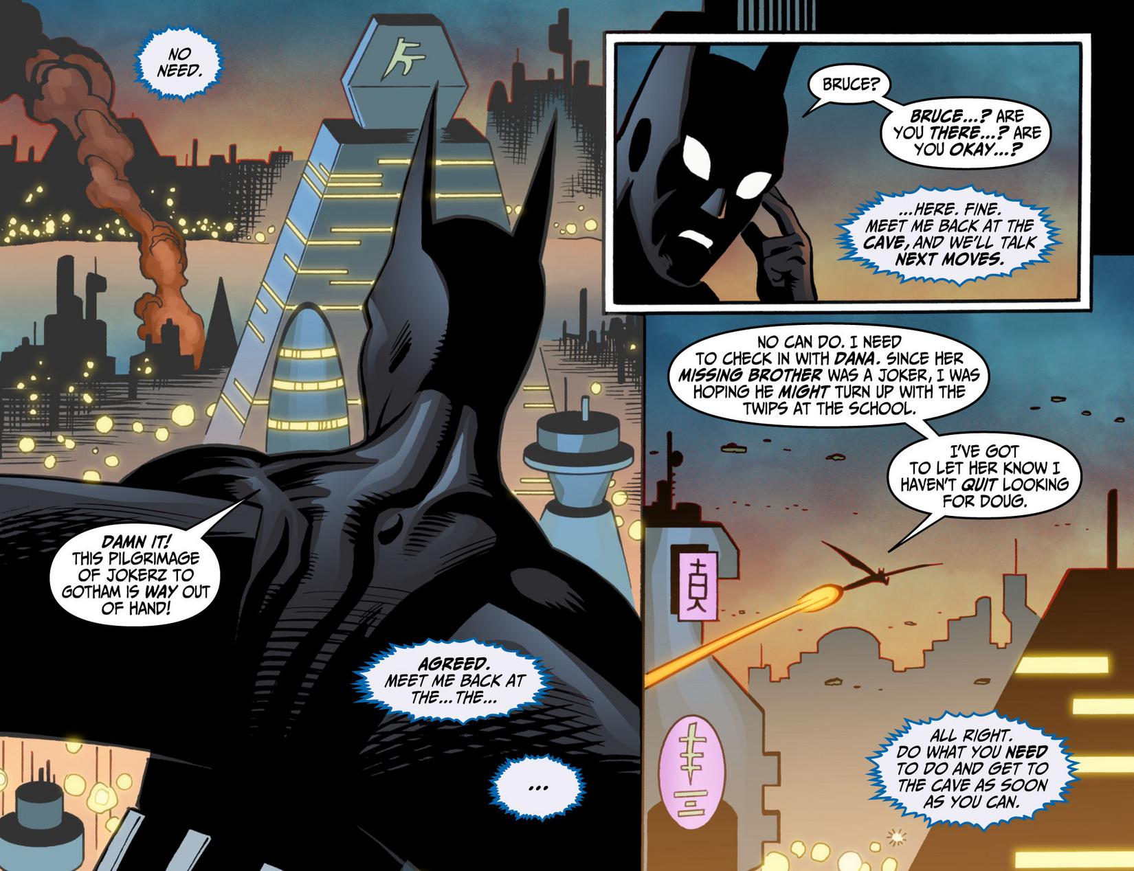 Batman Beyond (2012) Issue #9 #9 - English 19