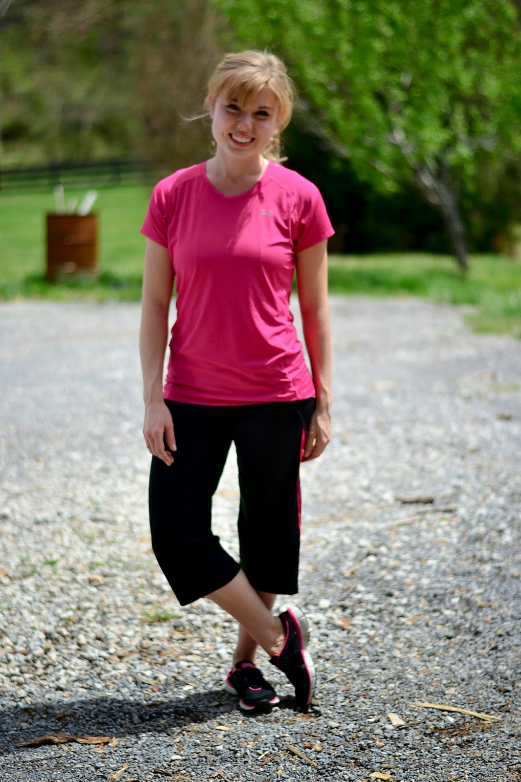 Fresh Modesty: My Workout Outfit