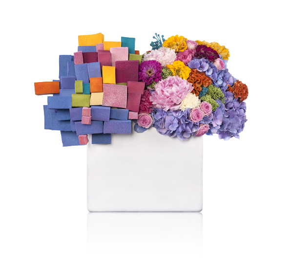 Bornay pixels or flowers - Flowers by bornay ...