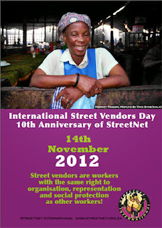 November 14 - International Street Vendors Day