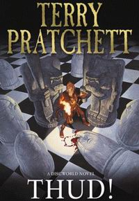 "Cover of ""Thud!"", a novel by Terry Pratchett"