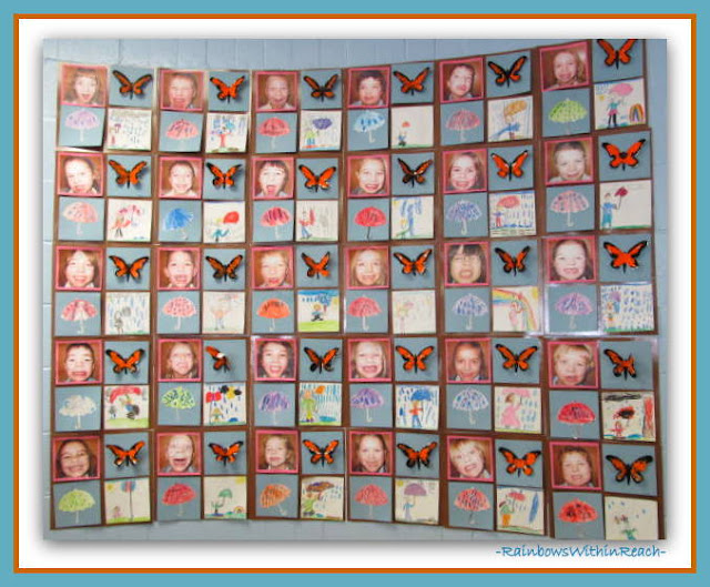 Kindergarten Spring-time Quilt (From Weather RoundUP at RainbowsWithinReach)