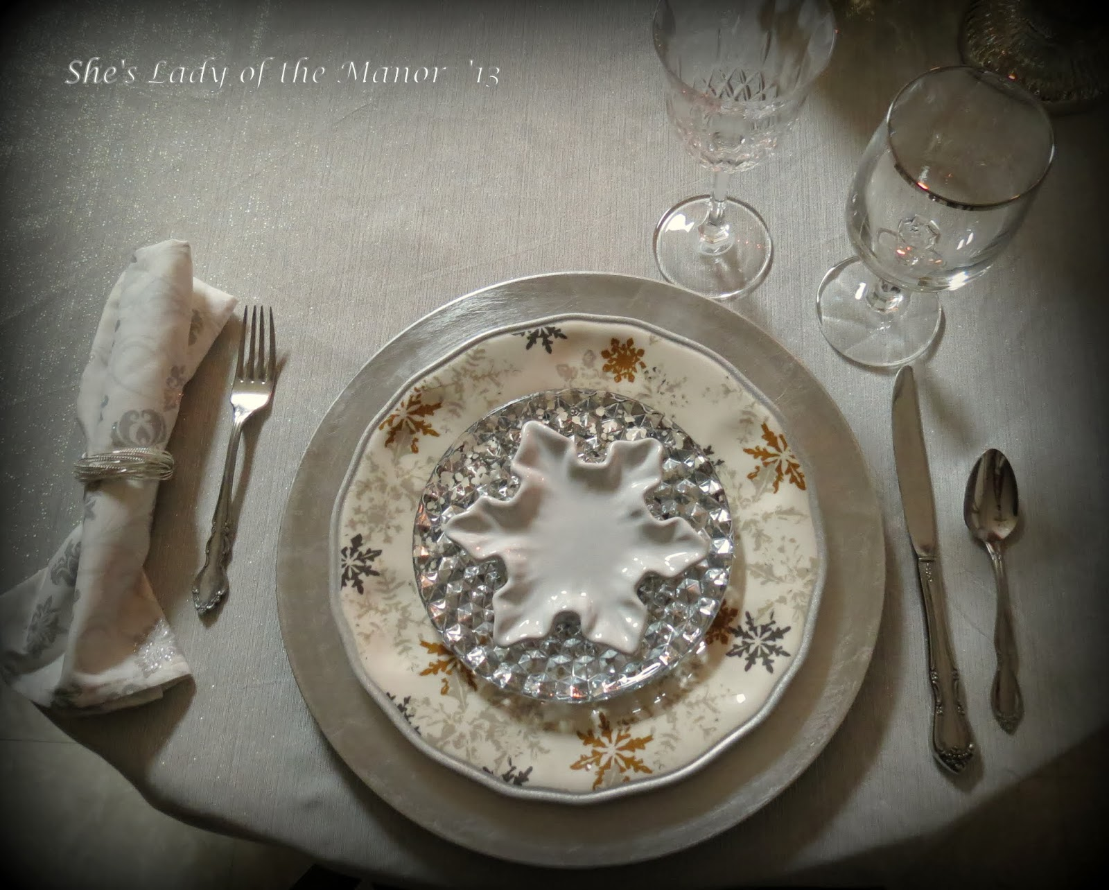She\'s Lady of the Manor: New Year\'s Eve Dinner