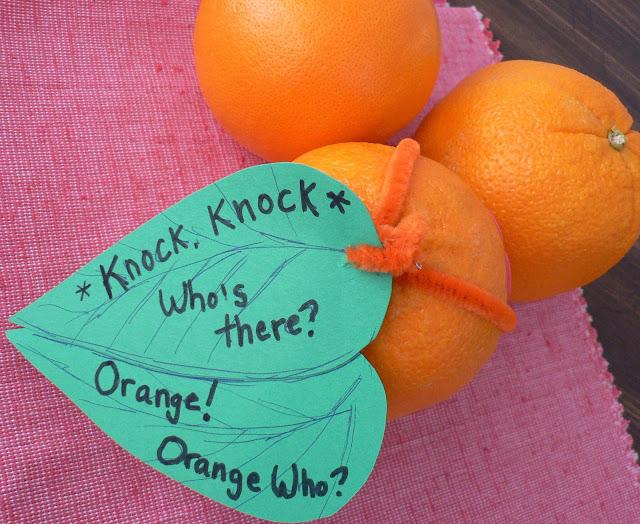 Healthy Valentine Treats for kids, orange valentine