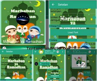 BBM Beta Mod V290.0.0.29 Theme Ramadhan