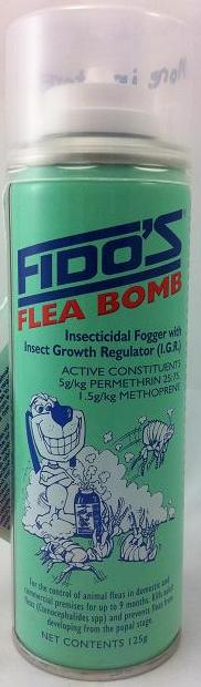 how to use a flea bomb