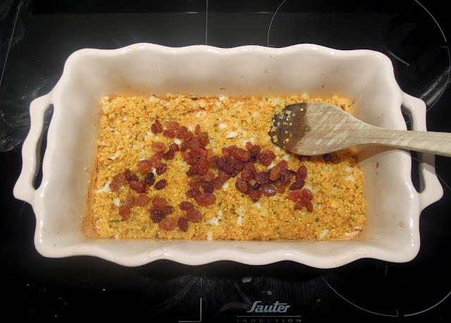 bake raisins