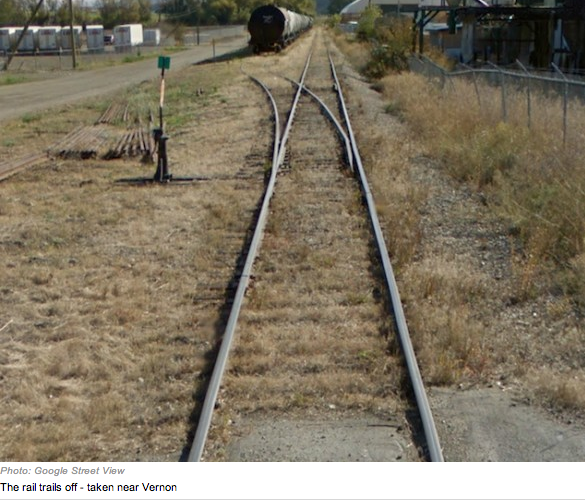 VernonBlog  October      A Vernon economist believes CN Rail     s decision to begin the process of abandoning the railway between Vernon and Kelowna is an opportunity local governments