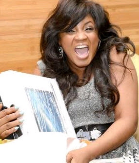 omotola jalade show is fake