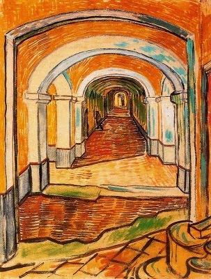 Passadís de l'Hospital de Saint-Paul (Vincent Van Gogh)