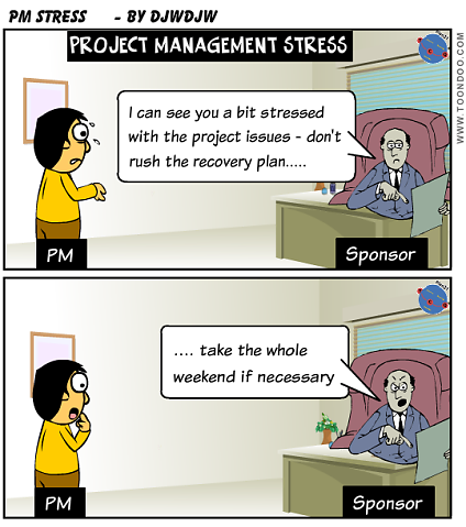 Project Management Stress