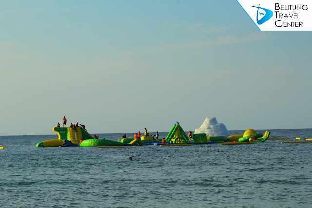 Wibit Floating Sea Water Park di Jimbaran Belitung