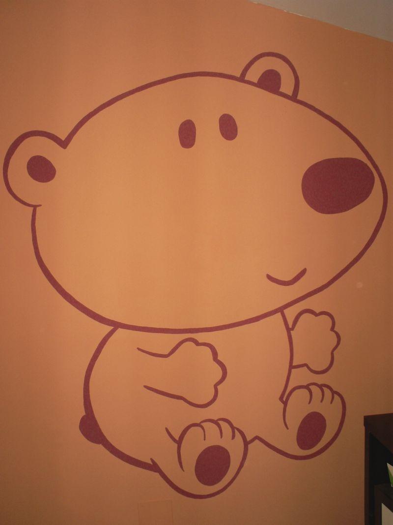 Decopared murales personalizados para el cuarto de tu bebe - Paredes pintadas con dibujos ...