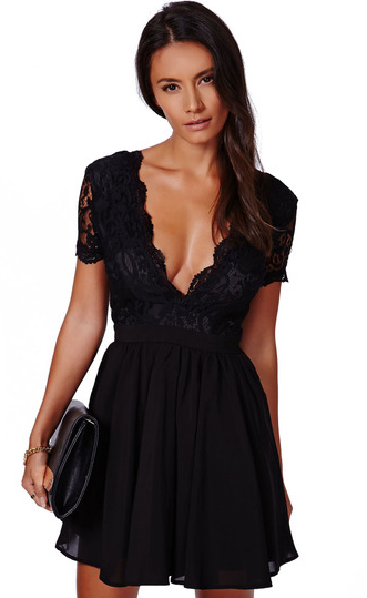 http://www.sheinside.com/Black-Deep-V-Neck-Lace-Pleated-Dress-p-195063-cat-1727.html?aff_id=1990