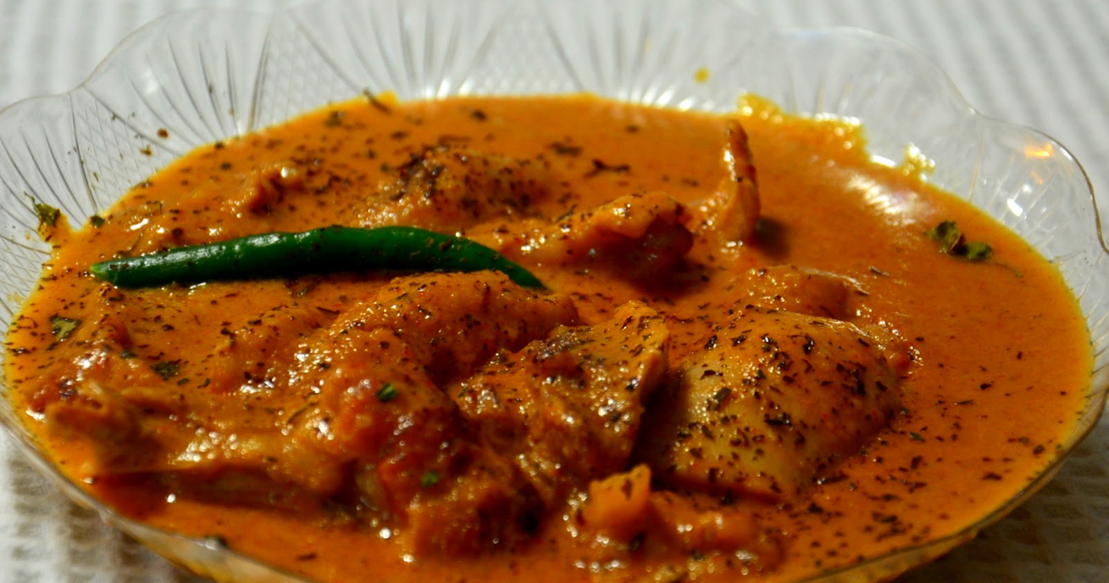 receipe for butter chicken