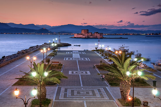 My Greek World: [Peloponnese] - Nafplio - the first ...