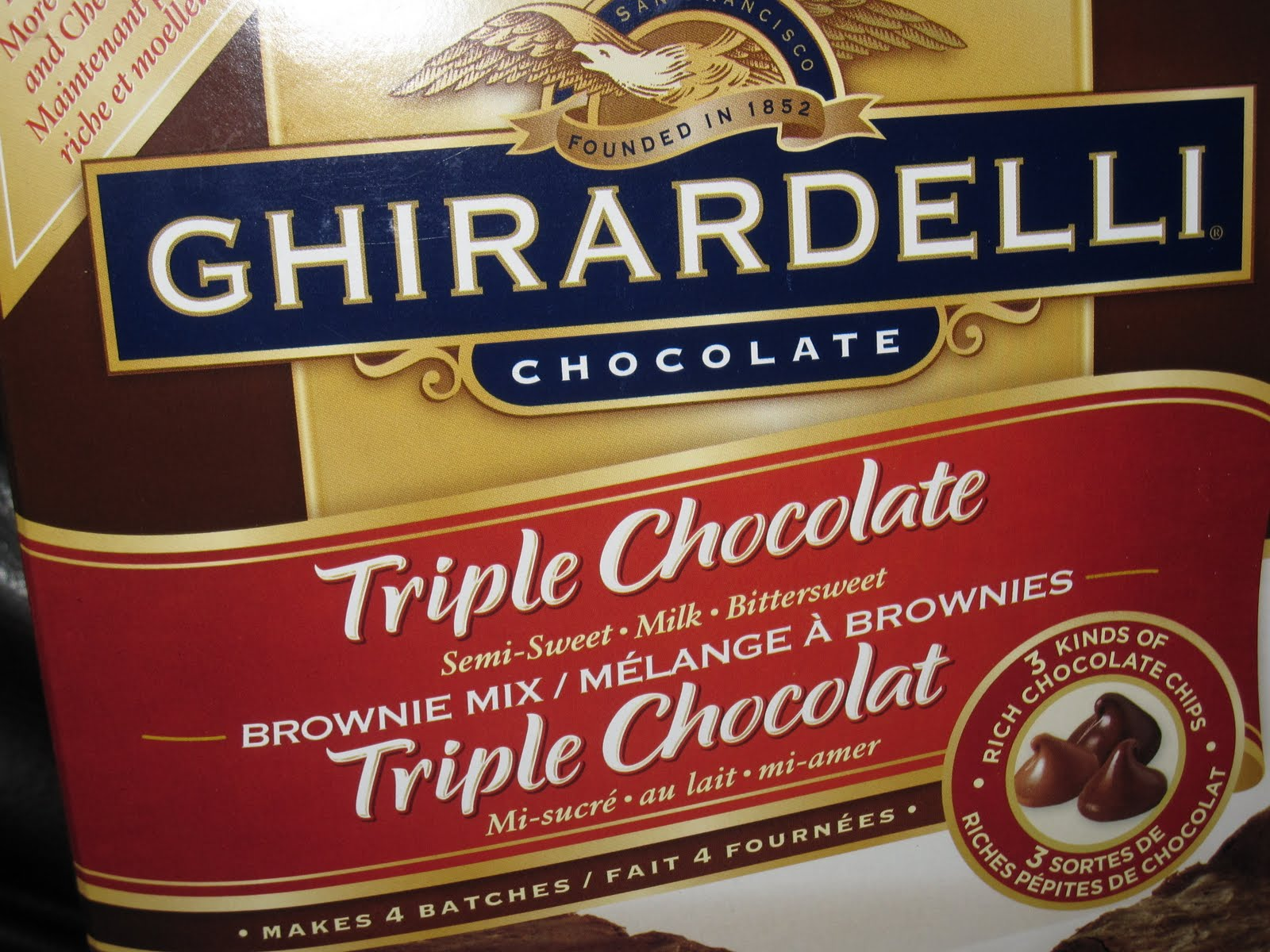 Ghirardelli Boxed Brownie Mix She Bakes Here