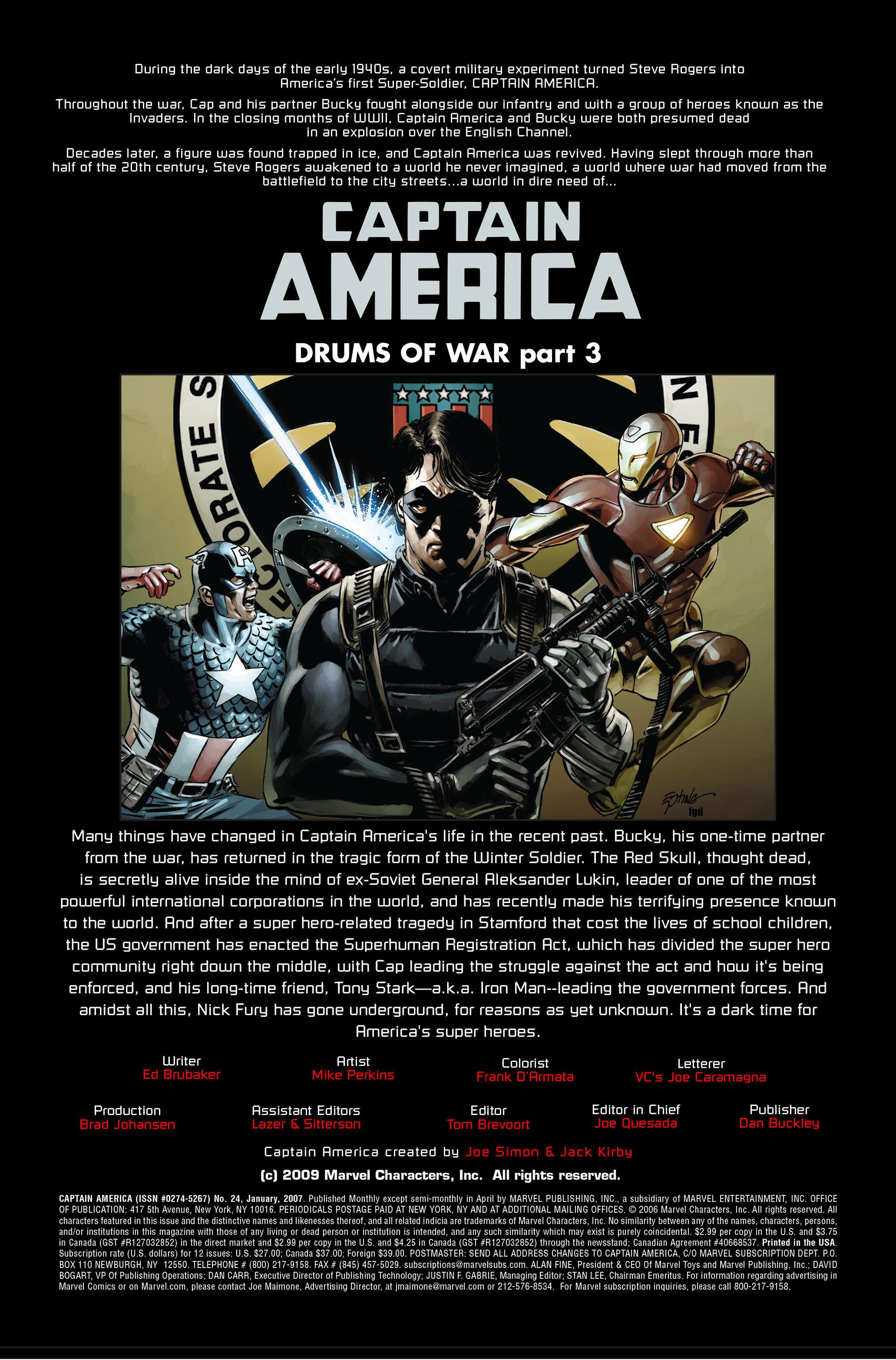 Captain America (2005) Issue #24 #24 - English 2