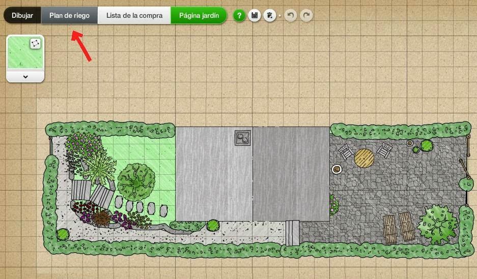 My garden dise o del riego guia de jardin for Riego de jardines