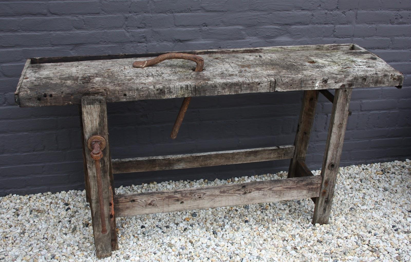 Werkbank kpper massief hout werkbank te koop with for Ladeblok garage