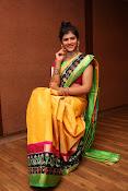Sangeetha Kamath dazzling saree photos-thumbnail-7