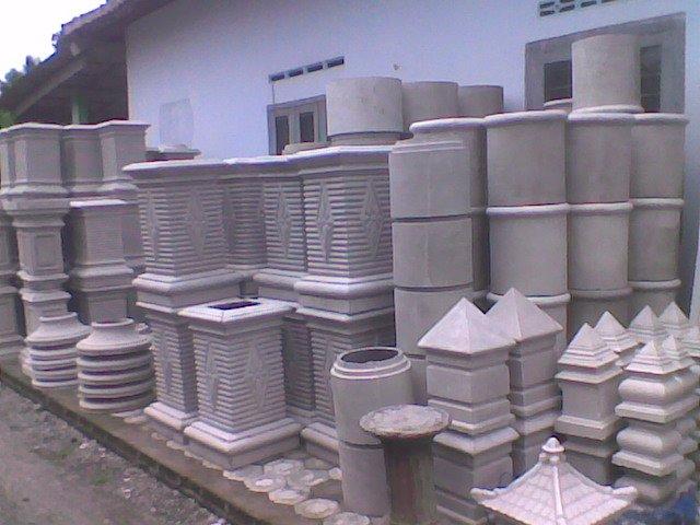 sanjaya profil beton sample ditoko joho