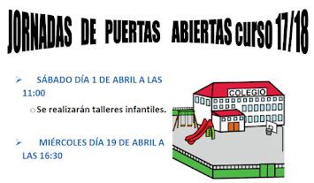 JORNADA DE PUERTAS ABIERTAS 17/18