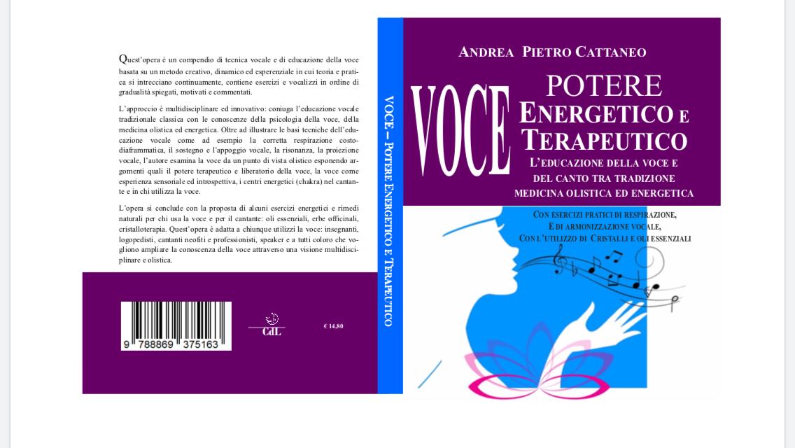 Voce: Potere Energetico e Terapeutico- L'educazione della voce e del canto tra tradizione medicina