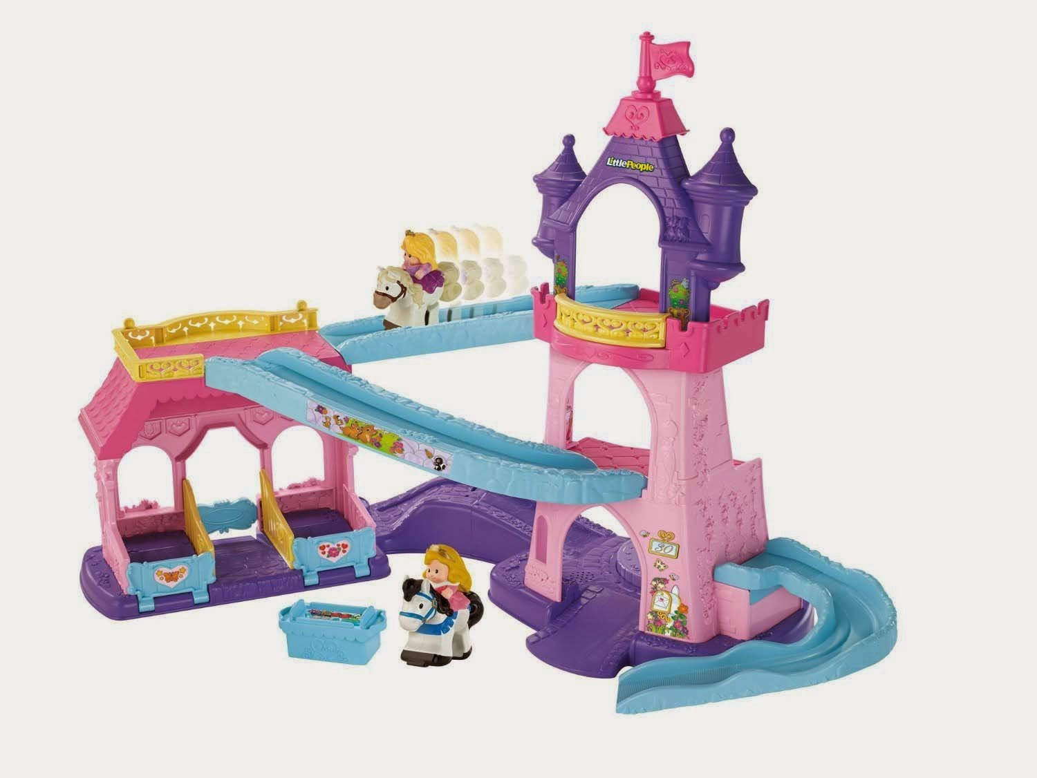 Fisher-Price Little People Disney Princess Klip Klop Stable | Best And Top Toys For Christmas Gifts