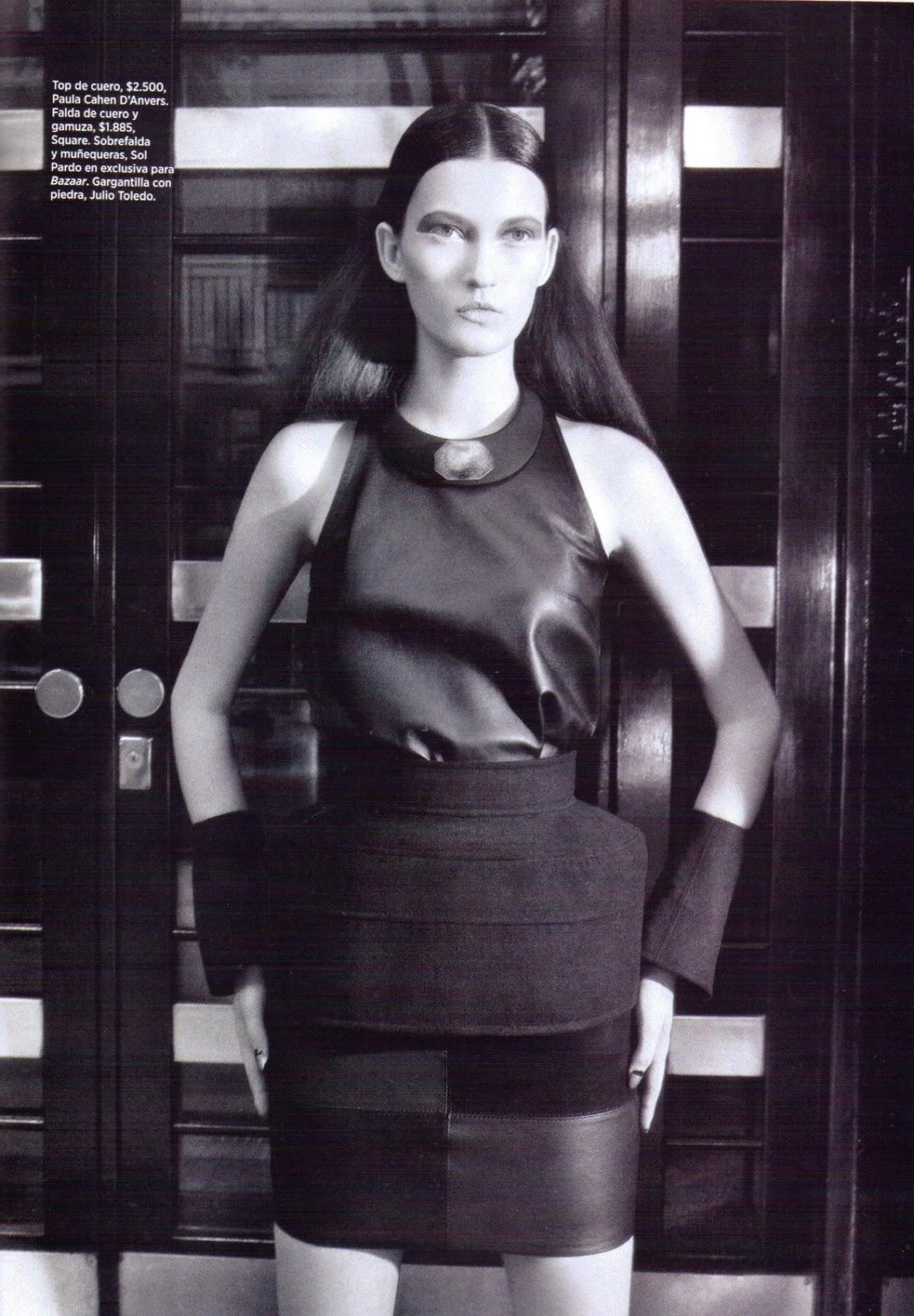Harper 39 s bazaar argentina abril 2014 fashion spoiler for Bazaar argentina