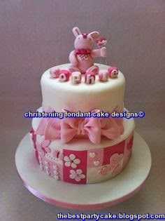 christening fondant cake designs