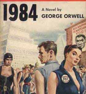 Why did George Orwell write 1984?