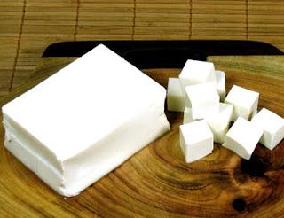 Canh sữa đậu phụ: