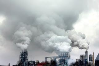 Hình ảnh không khí bị ô nhiễm
