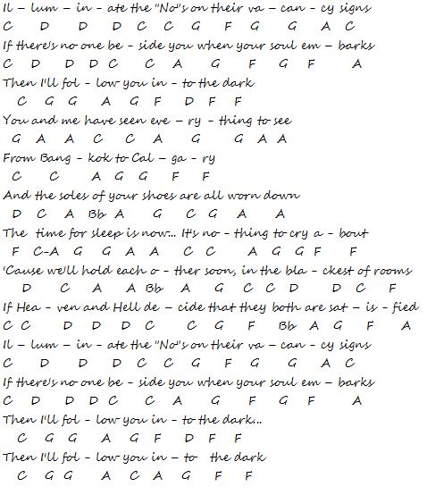 Flute & Piccolo Music: Death Cab For Cutie - I Will Follow You Into ...