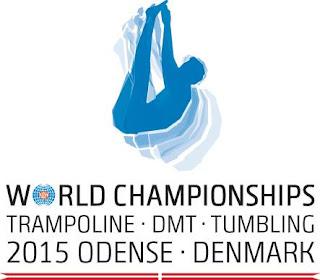 GIMNASIA TRAMPOLÍN - Mundial 2015 (Odense, Dinamarca)