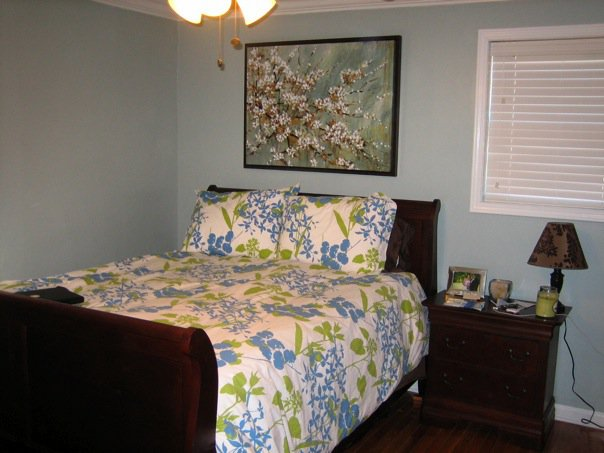 Small Old Bedroom master bedroom update: pb colette bedding and a new bed! | the