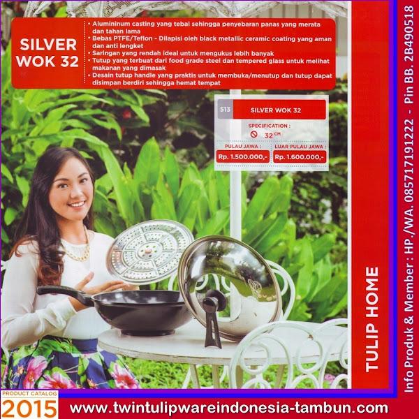 Silver Wok 32, Wajan Penggorengan Tulipware 2015